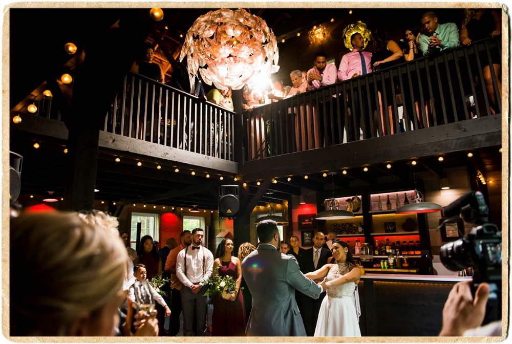First Dance in the carriage barn