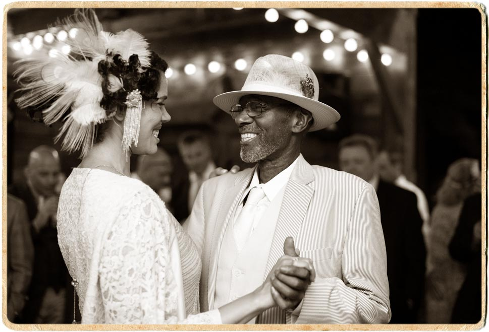 Father Daughter dance at the carriage barn at an Upstate New York wedding