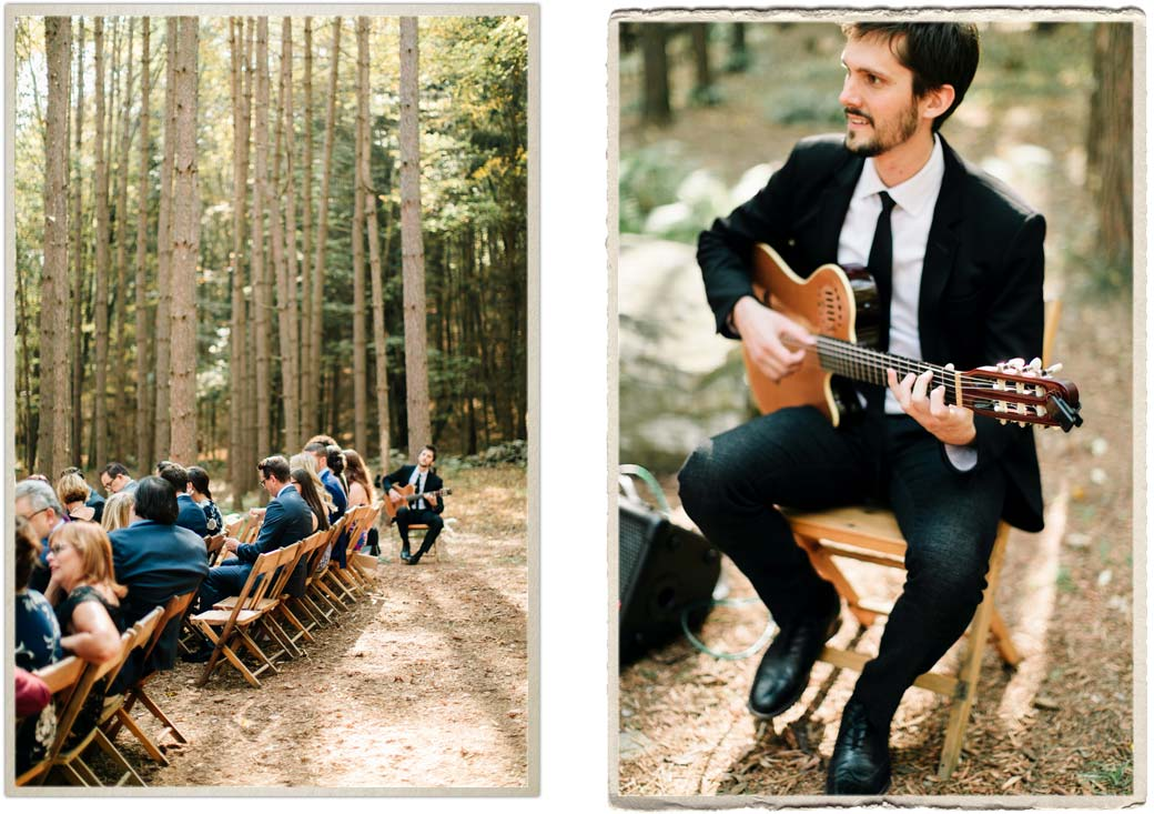 Live music and a wedding ceremony at Roxbury Barn and Estate