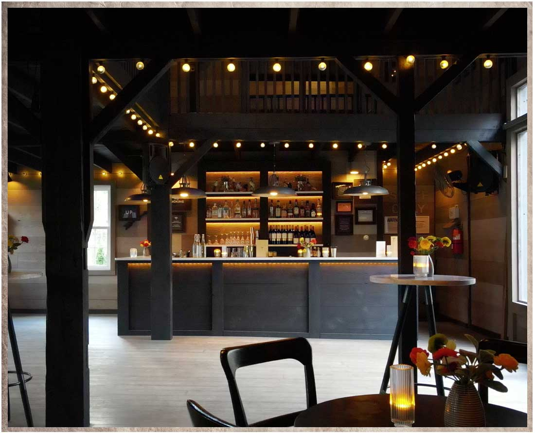 Gorgeous bar is the perfect melding of classic and contemporary