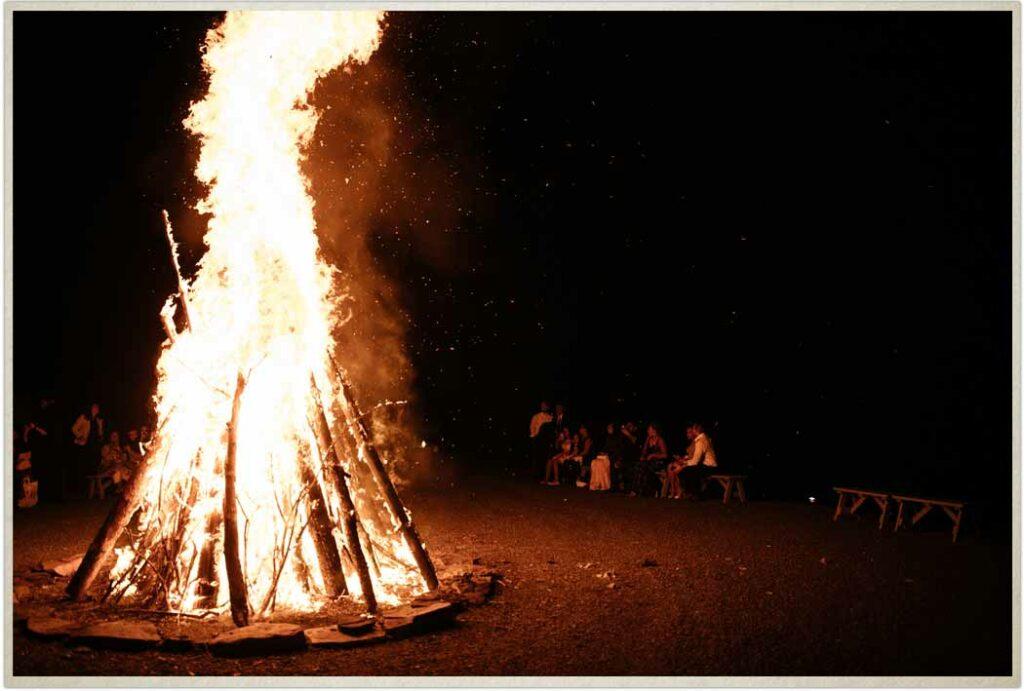 Bonfire on Spring Hill