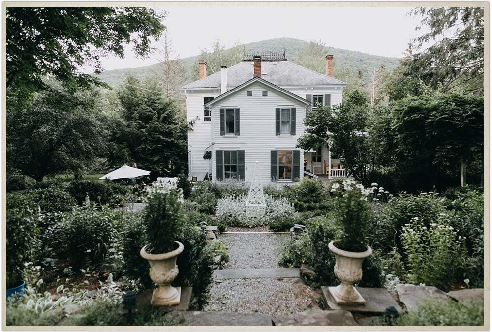 The Secret Garden behind the Captain's House