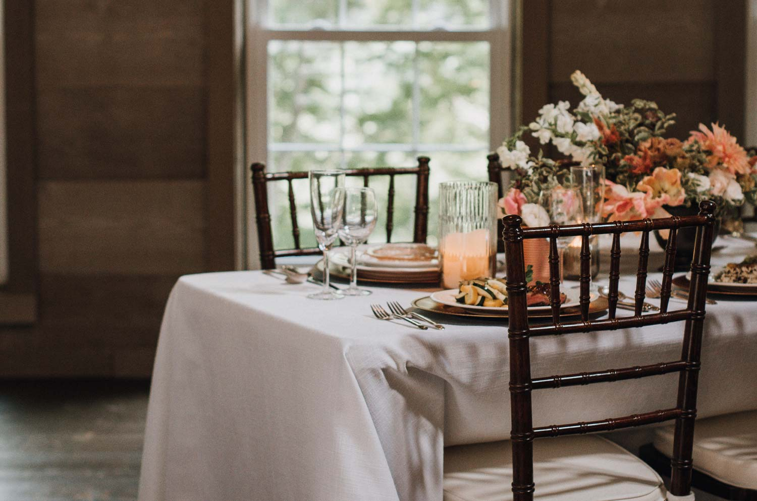 Ate O A Catering: Roxbury Barn and Estate's exclusive caterer