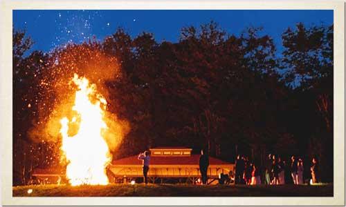 extra large bonfire